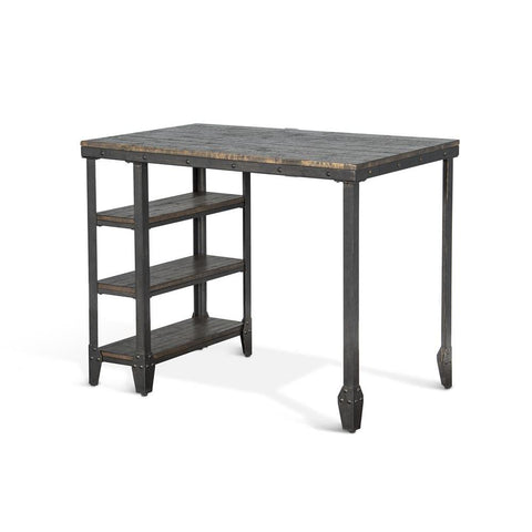 Sunny Designs Metroflex Lamar Table in Tobacco Leaf