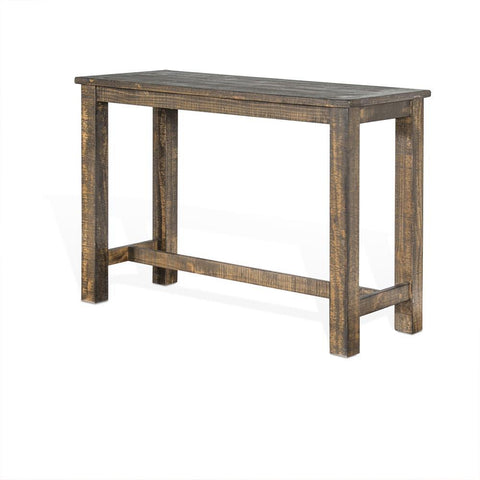 Sunny Designs Metroflex Rectangular Pub Table in Tobacco Leaf