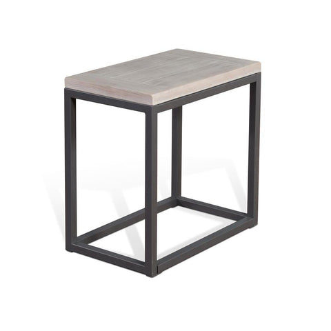 Sunny Designs Mt. Vernon Chair Side Table in Urban Sunrise