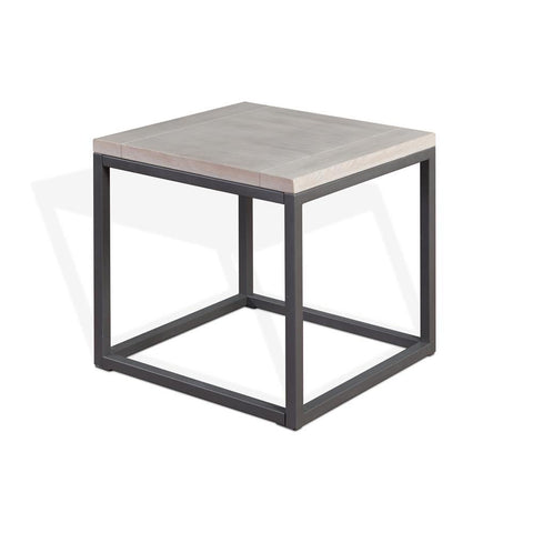 Sunny Designs Mt. Vernon End Table in Urban Sunrise