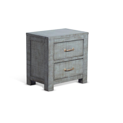 Sunny Designs Ranch House Nightstand in Little Boy Blue