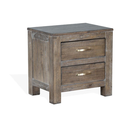 Sunny Designs Reno Nightstand in Mink Coat
