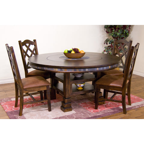 Sunny Designs Santa Fe Collection Five Piece Dining Set 1225DC