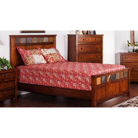 Sunny Designs Santa Fe Petite Panel Bed
