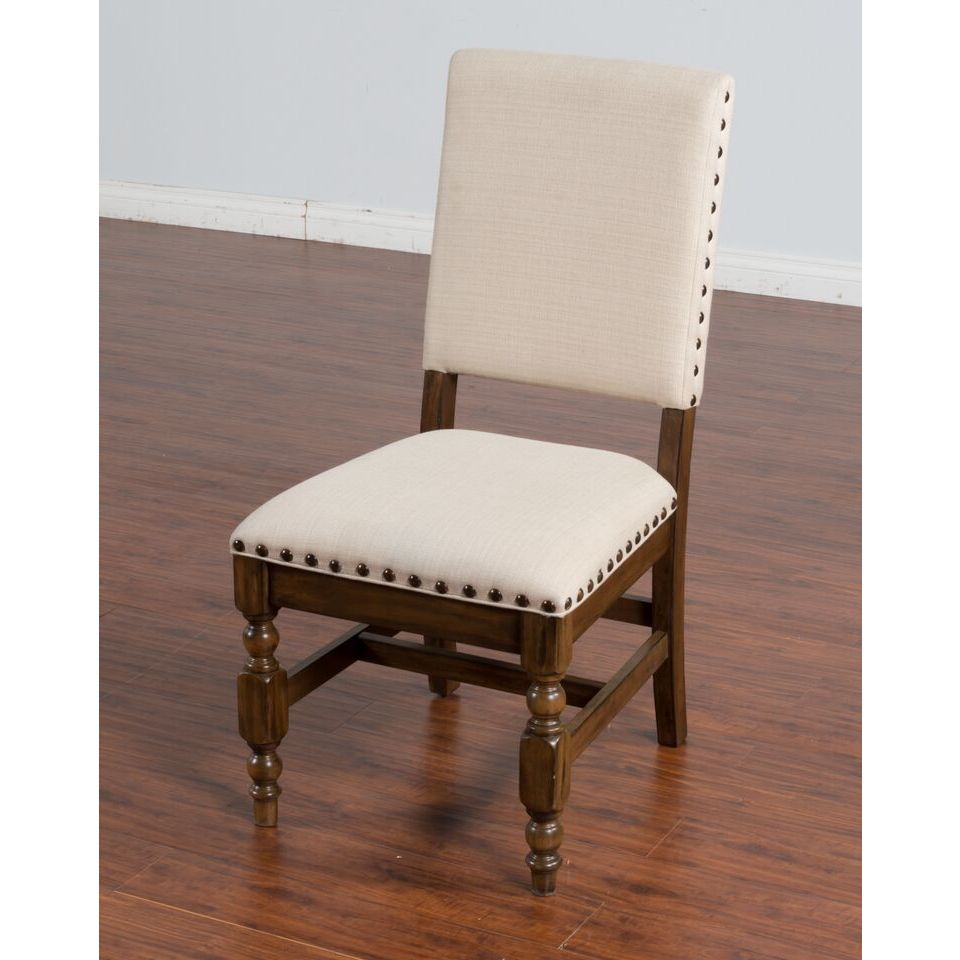 Sunny Designs Savannah Side Chair With Cushion Seat And