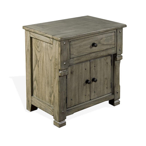 Sunny Designs Scottsdale Nightstand in Cadet Gray