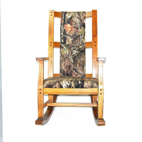 Sunny Designs Sedona Rocker in Rustic Oak
