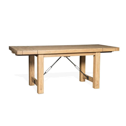 Sunny Designs Sierra Counter Height Extension Table in Dry Leaf