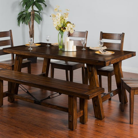 Sunny Designs Tuscany Extension Table with Turnbuckle