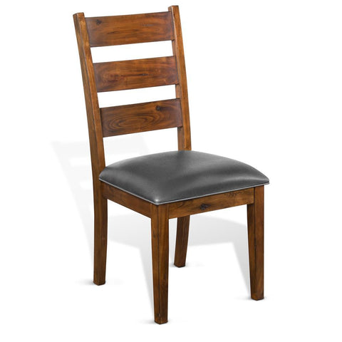 Sunny Designs Tuscany Ladderback Chair in Vintage Mocha