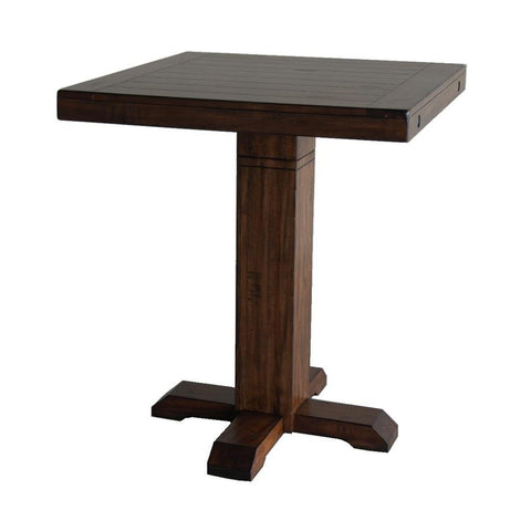 Sunny Designs Tuscany Pub Table in Vintage Mocha