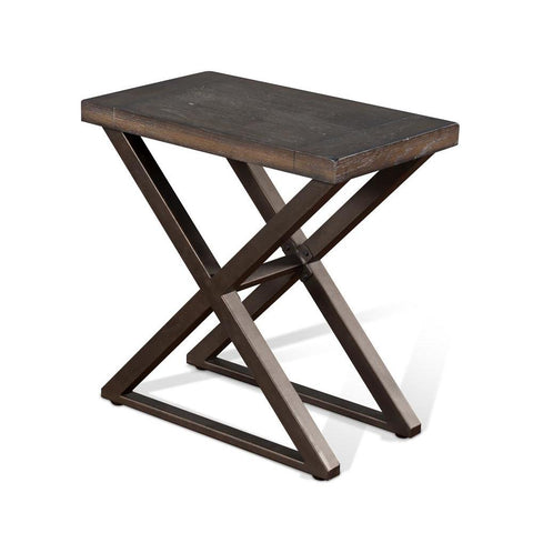 Sunny Designs Tyler Chair Side Table in French