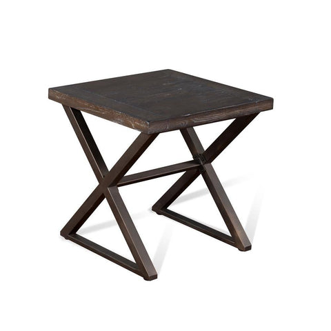 Sunny Designs Tyler End Table in French
