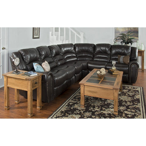 Sunny Designs Wyoming Right Facing Recliner Loveseat