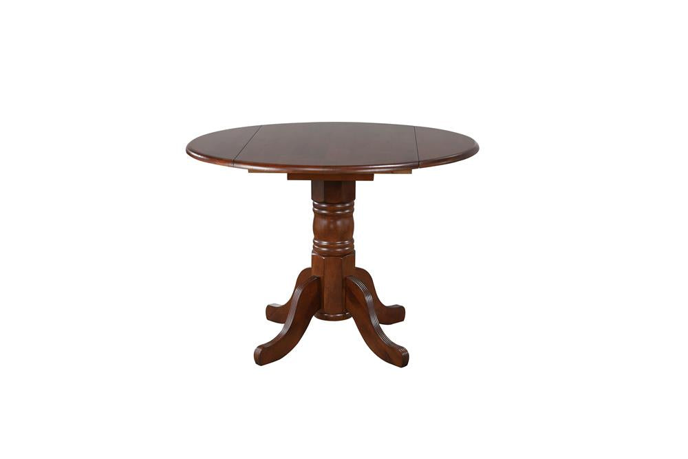 Sunset Trading 3 Piece 42 Inch Round Drop Leaf Dining