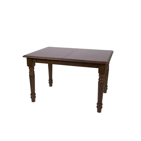 Sunset Trading Andrews 60 Inch Butterfly Dining Table in Distressed Chestnut