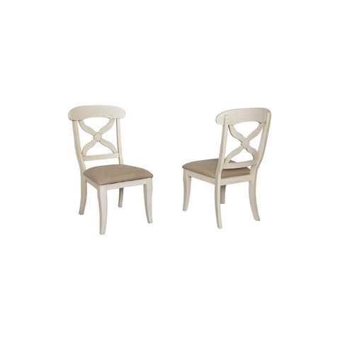 Sunset Trading Andrews Dining Chair in Antique White