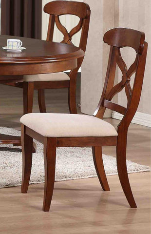Pleasing Sunset Trading Andrews Dining Chair In Distressed Chestnut Gmtry Best Dining Table And Chair Ideas Images Gmtryco