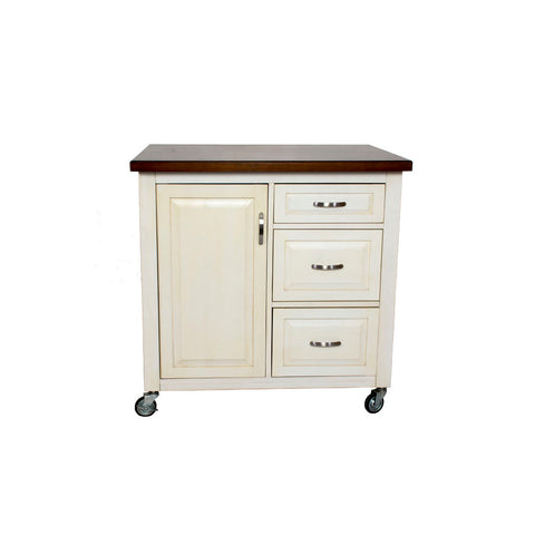 Sunset Trading Andrews Kitchen Cart