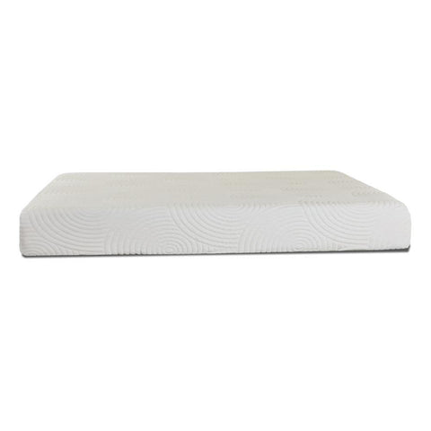 Sunset Trading Best 10 Inch Gel Memory Foam Mattress in White