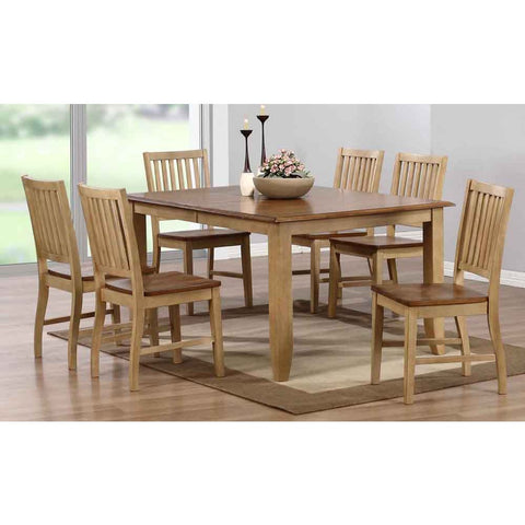 Sunset Trading Brook 7 Piece Extension Dining Set