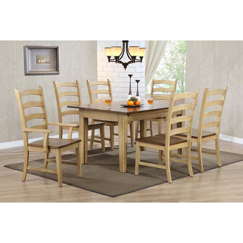 Sunset Trading Brook 7 Piece Rectangular Extension Dining Set