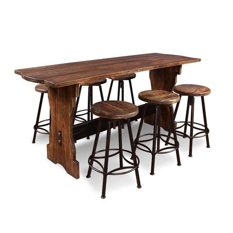 Sunset Trading Cabo 7 Piece Counter Height Pub Table Set
