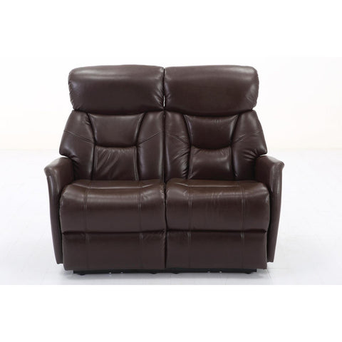 Sunset Trading Easy Living Bonn Dual Reclining Loveseat w/USB in Angus Brown