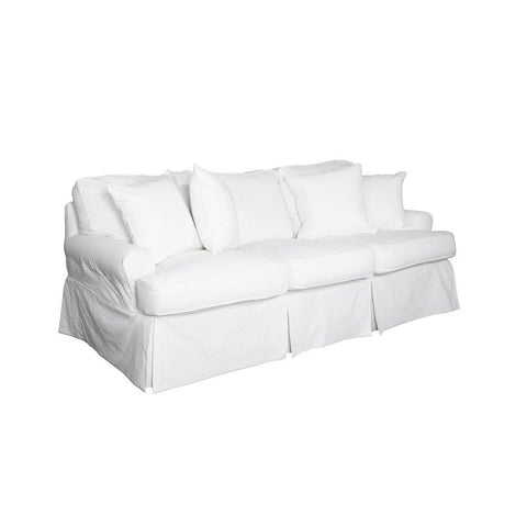 Sunset Trading Horizon Sofa - Slip Cover Set Only - Warm White