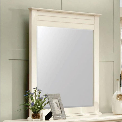 Sunset Trading Ice Cream At The Beach Mirror in Antique White/Cream