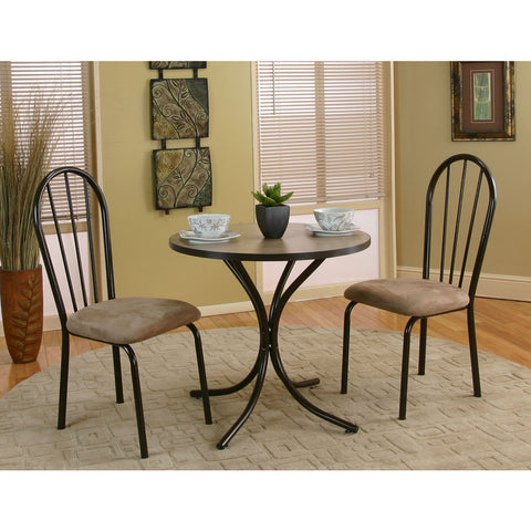 Sunset Trading Linen 3 Piece Dinette Set