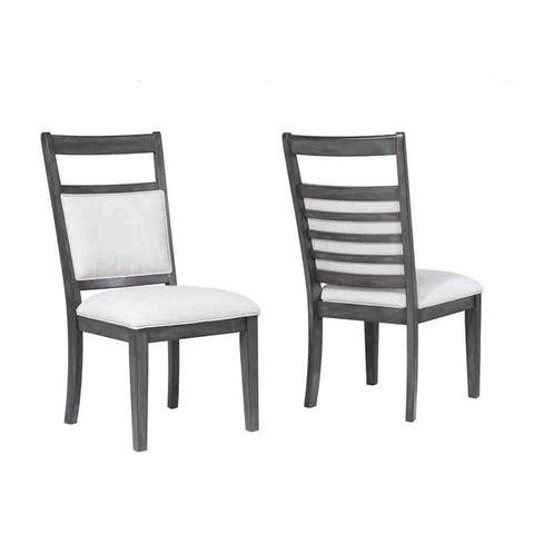 Sunset Trading Shades of Gray Dining Chair - Set of 2