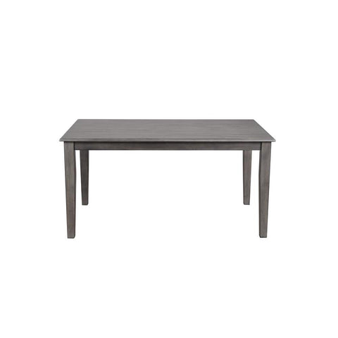 Sunset Trading Shades of Gray Dining Table in Weathered Grey