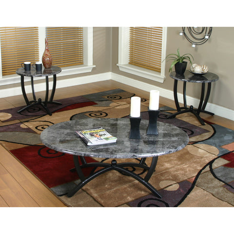 Sunset Trading Sierra 3 Piece Coffee & End Table Set