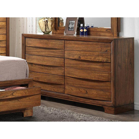 Sunset Trading Sonoma Storage Dresser in Warm Chestnut