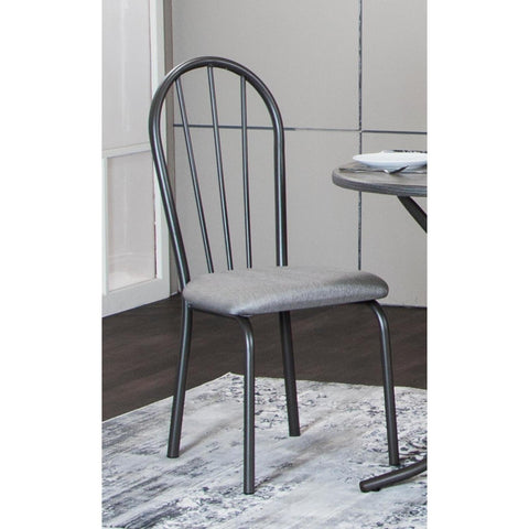 Sunset Trading Steel Gray Dining Chair (Set of 2)