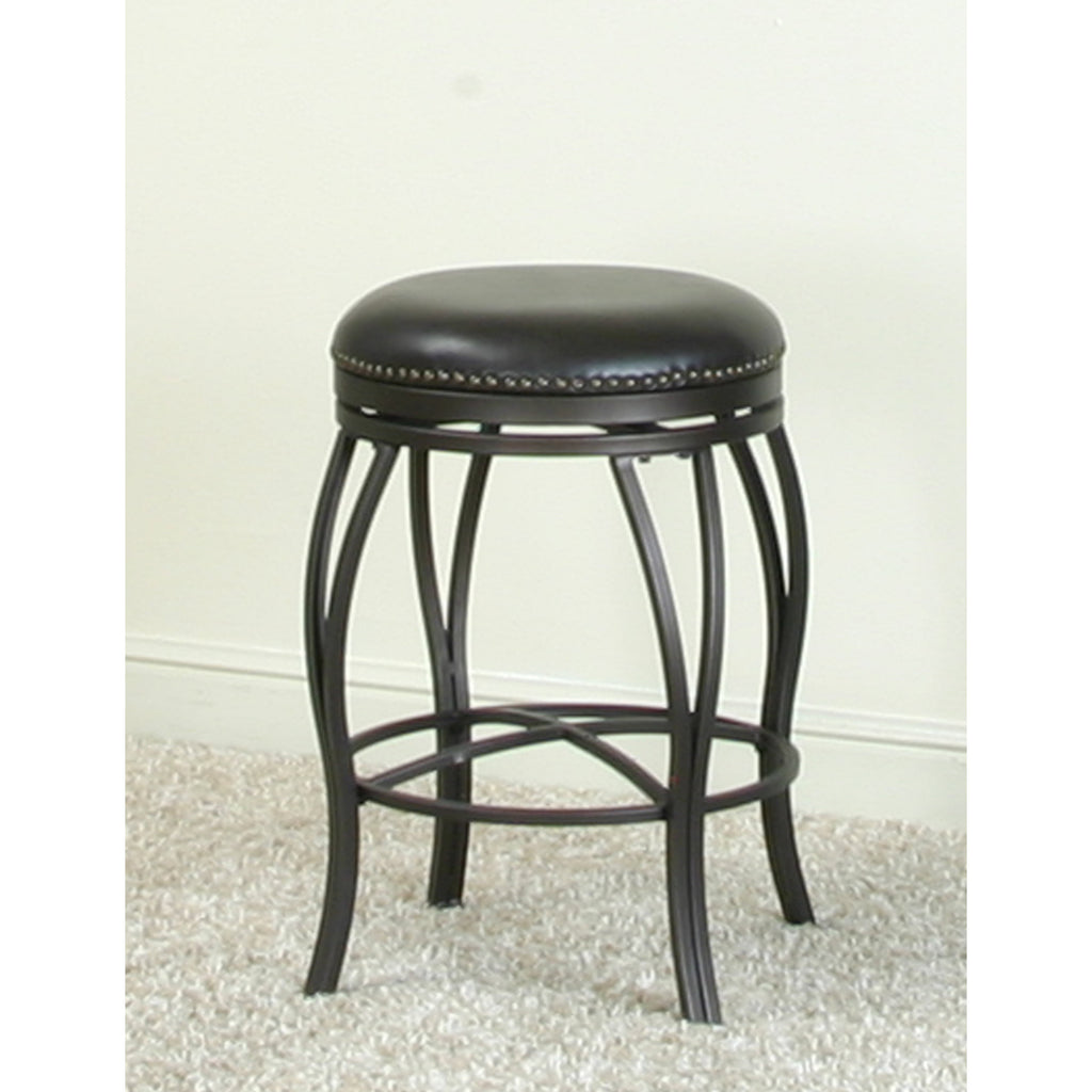 Sunset Trading Victoria Backless 24 Swivel Counter Stool Beyond