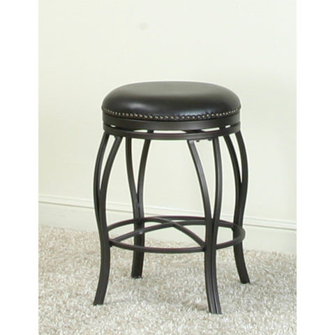 "Sunset Trading Victoria Backless 24"" Swivel Counter Stool"