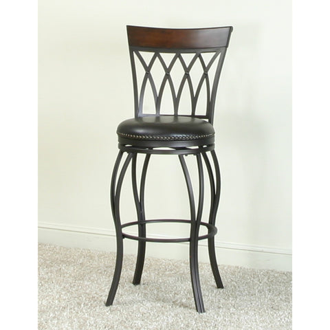 "Sunset Trading Waterloo Highback 30"" Swivel Barstool"