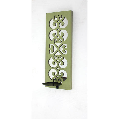 Screen Gems Green Candle Holder WD-116