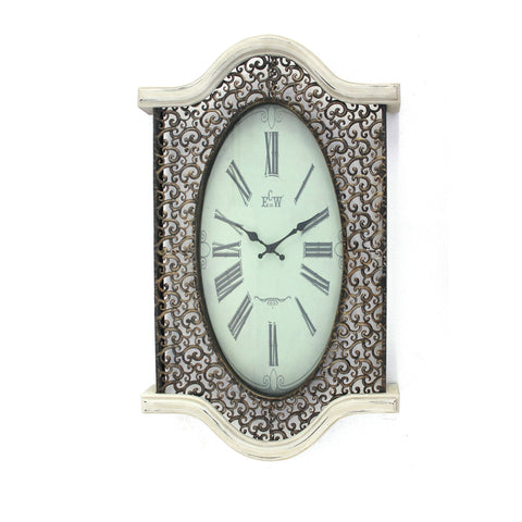 Screen Gems Metal And Wood Wall Clock WD-032