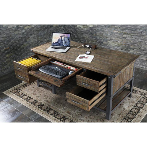 Turnkey Artisan Revival Executive Desk