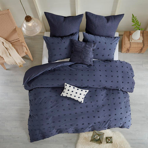 Urban Habitat Brooklyn Cotton Jacquard Duvet Cover Set King/Cal King