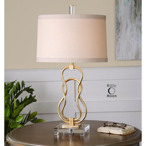 Uttermost Adelais Curved Metal Lamp