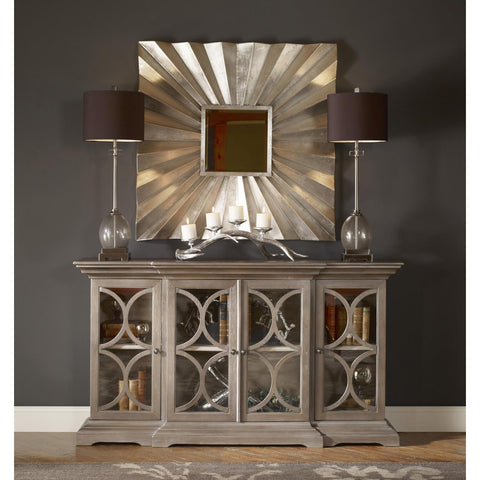 Uttermost Adelmar Metal Square Mirror