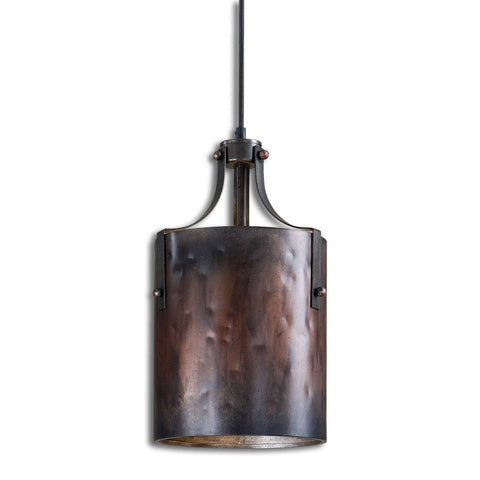 Uttermost Akron 1 Light Copper Mini Pendant