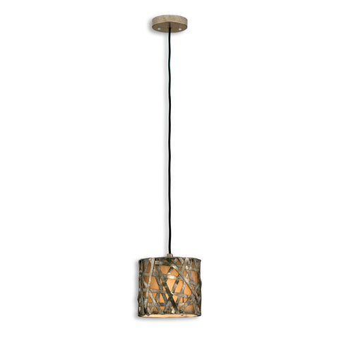 Uttermost Alita Champagne Mini Metal Hanging Shade