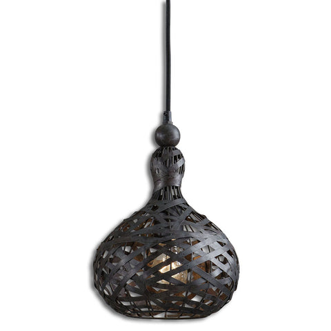 Uttermost Alita Industrial 1 Light Mini Pendant