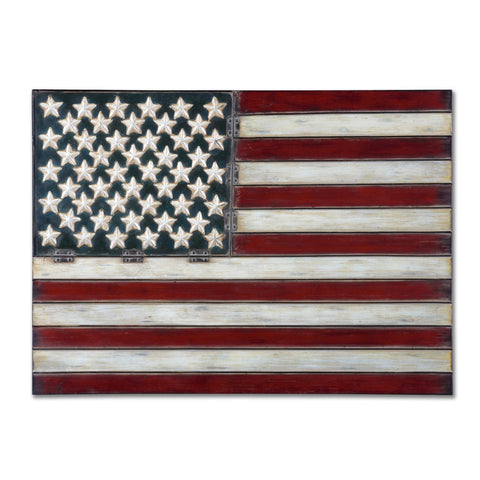Uttermost American Flag Wall Art