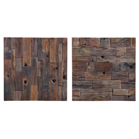 Uttermost Astern Wood Wall Decor, S/2